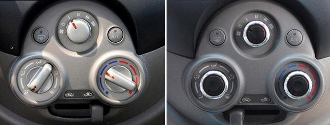 NIssan Almera Air Condition Knob