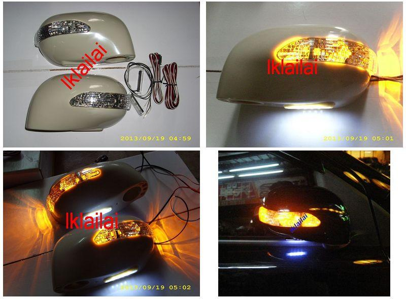 Nissan Grand Livina LED Signal Side Mirror Cover with Foot Lamp Set