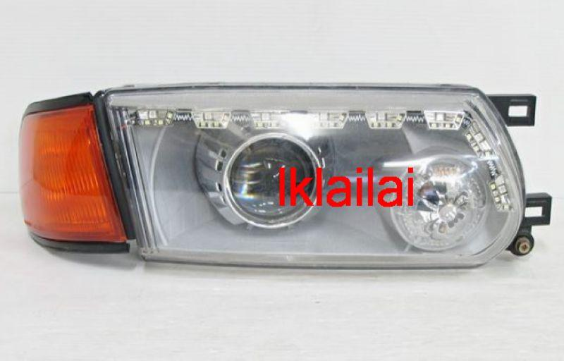 NISSAN SENTRA B13 2-Function DRL R8 Projector Head lamp