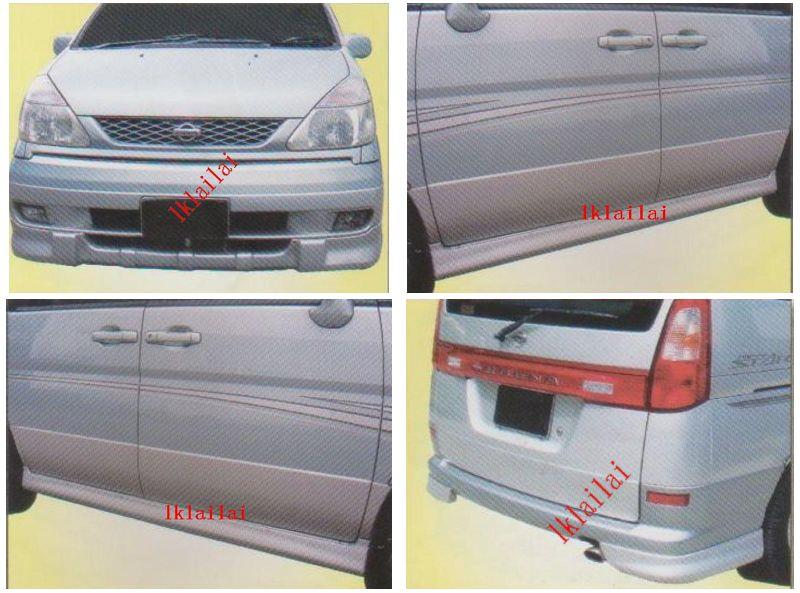 Nissan Serena '00-04 Full Set Body Kit [Front+Side+Rear Skirt]