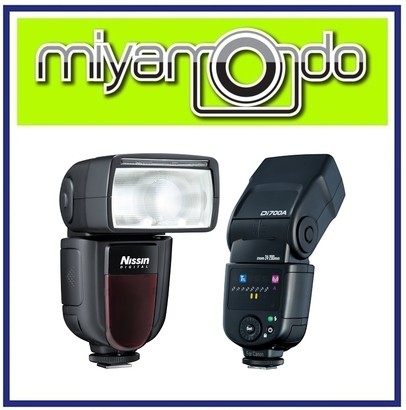 NEW Nissin Di700A Wireless E-TTL Speedlite Flash Light Di700 For Canon