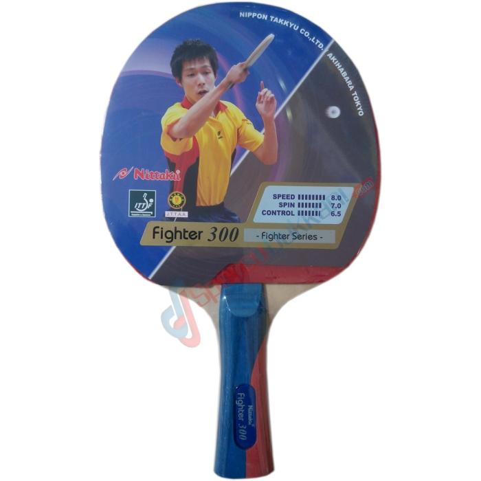 Nittaku Fighter 300 Table Tennis/ Ping Pong Racket