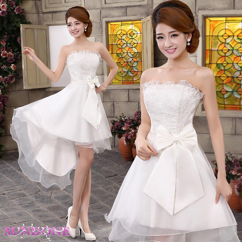 Noble Flavor Wedding Dress/Bridesmaid dress wd1607