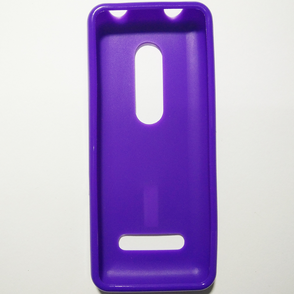 NOKIA 206 - PURPLE COLOUR - PHONE SILICONE BACK COVER CASE