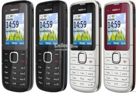 NOKIA C1-01 CLASSIC PHONE (REFURBISHED SET)