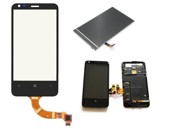 Nokia Lumia 620 LCD Display / Digitizer Touch Screen Lumia620