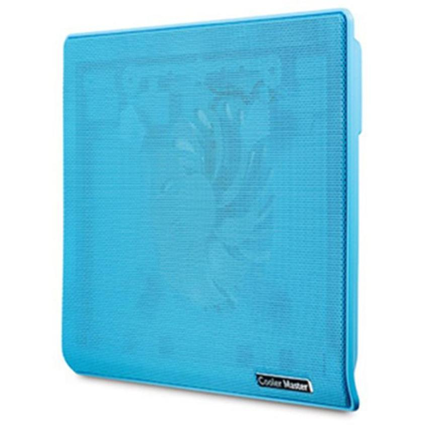 Notepal I100 Silent Fan Laptop Cooling Pad-Blue