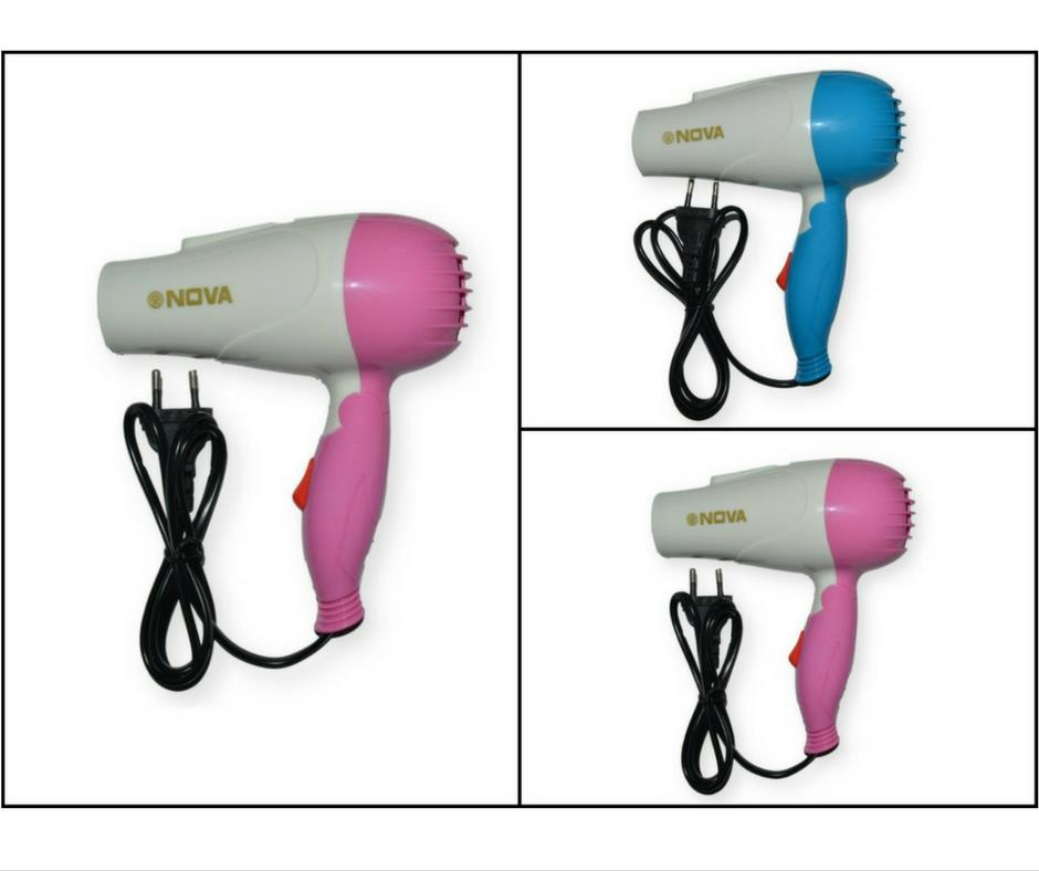 Nova NV-1290 Professional Foldable Hair Dryer 1000W