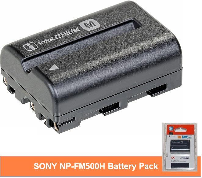 NP-FM500H  battery for Sony a200 a300 a700 a900 a99
