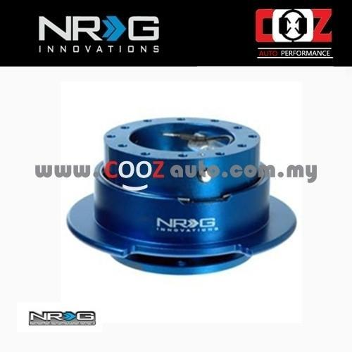 NRG Steering Wheel Quick Release Kit Gen 2.5 - BLUE