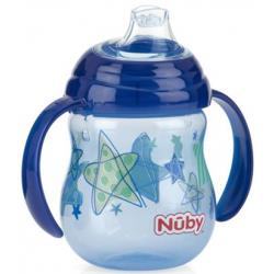 NUBY CLICK-IT TWIN HANDLE 240ML