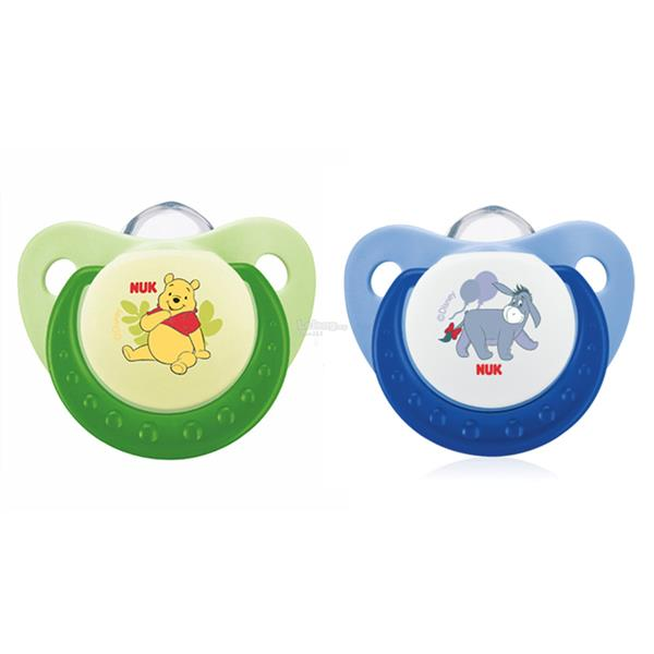 Nuk: Disney Silicone Sleep-Time Soother Size 2 (6-18mths)