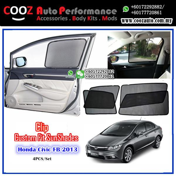 OEM FITTING SUN SHADE SUNSHADE HONDA CIVIC FB 2013