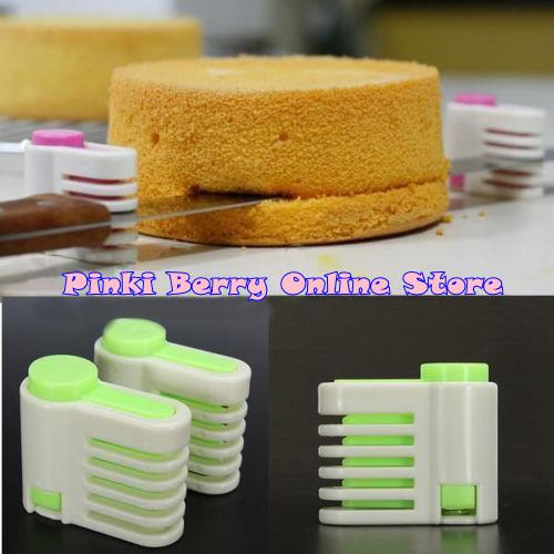 offer 5 Layers DIY Cake Cutter Leveler Slicer (1 pair) CCS01