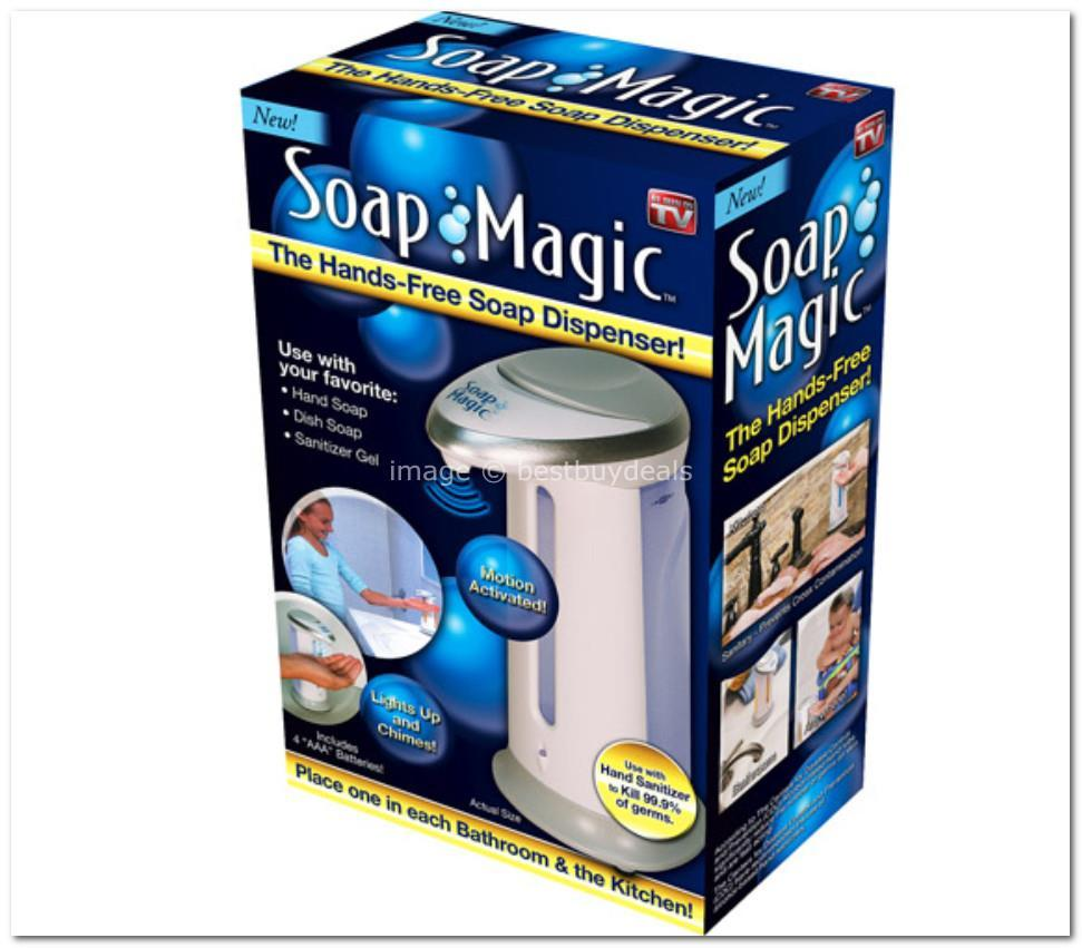 Offer!!Magic Soap Liquid Automatic Handsfree Motion Sensor Dispenser