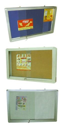 OFFICE SUPPLY | SLIDING GLASS DOOR WHITE BOARD MALAYSIA 4'X8'