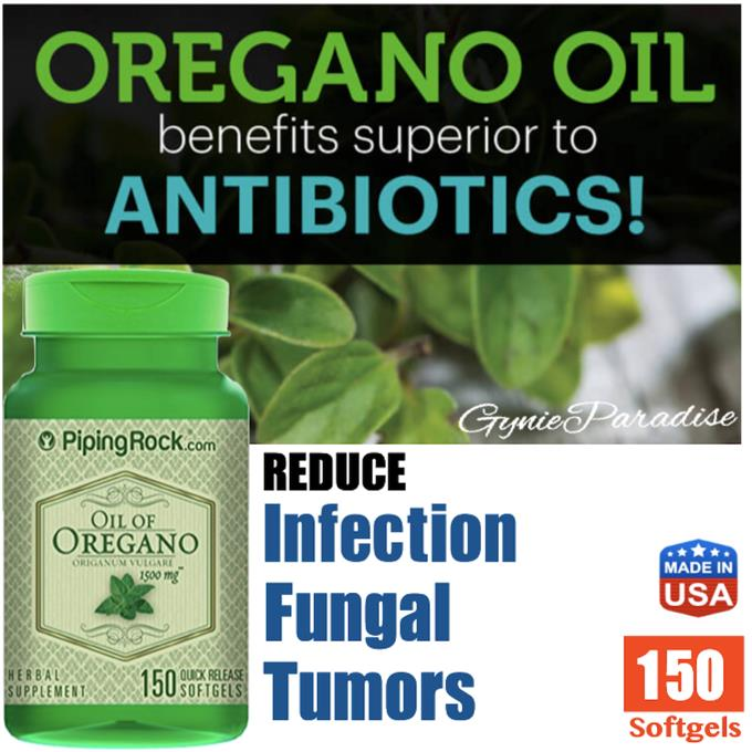 Oil Of Oregano 1500mg, 150 softgels (Immune, Antioxident, Urinary) USA