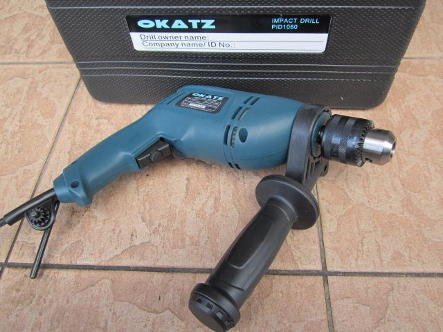 Okatz 550W 13mm Electric Impact Drill Set