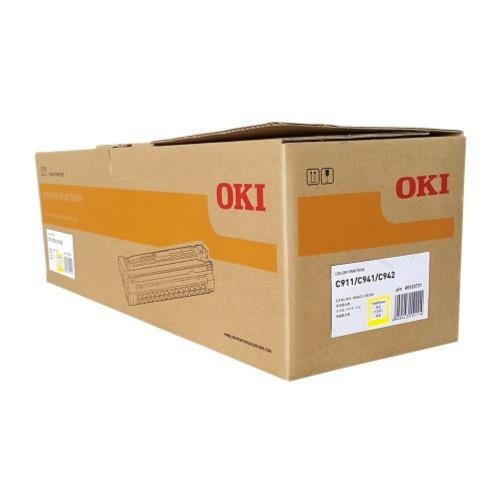 Oki Drum C911 / C941 / C942  ( Yellow ) p/n 45103731 (Genuine) 911 941