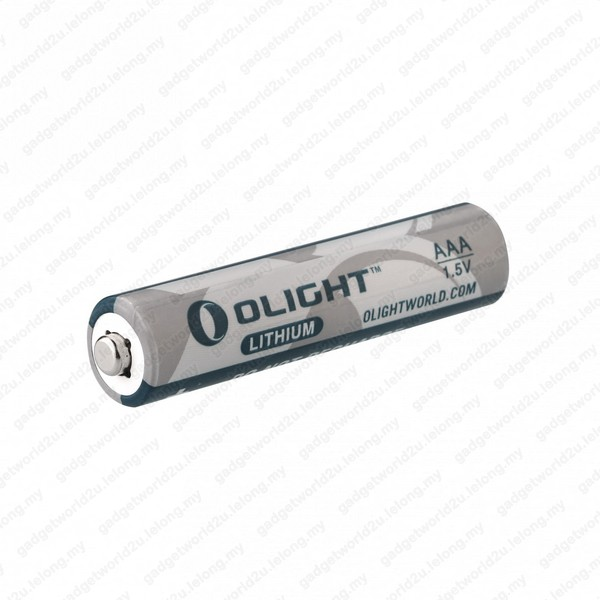 Olight AAA 1.5V LITHIUM BATTERY - NOT RECHARGEABLE