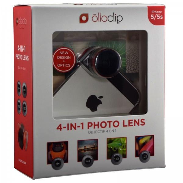 Olloclip 4 in 1 Lens for iPhone 5 Black- free shipping