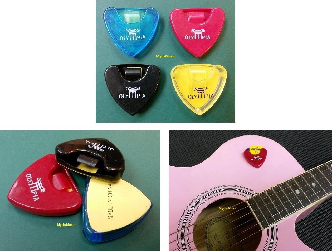 OLYMPIA Guitar Pick Holder. Pemegang Pemetik Gitar