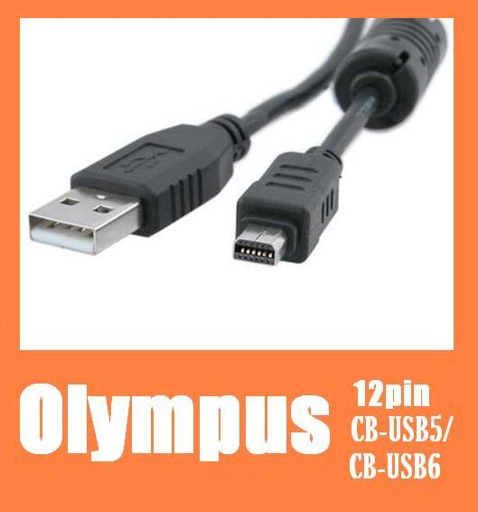 Olympus CB-USB5 USB6 Compatible USB Data Cable TG310/E-PL5 /Tough850