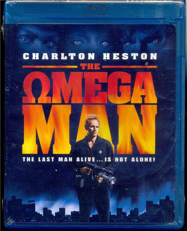 The Omega Man - New Blu-Ray