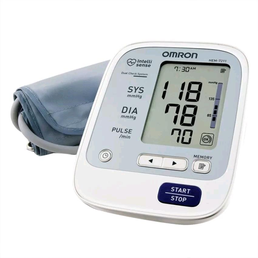 Omron HEM 7211 Premium Blood Pressure Machine (3 Years Warranty)