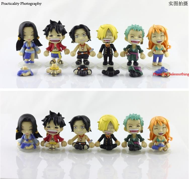 One Piece @ be.smile Luffy Nami Sanji Roronoa Ace Figure Collection