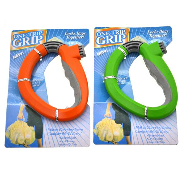 ONE-TRIP GRIP (PLASTIC BAG HOLDER)