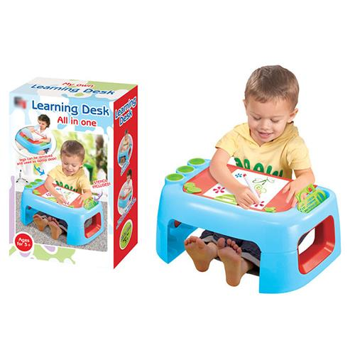 All in One Ultimate Artist Childrens Learning Desk w/ Dry Erase Magnet