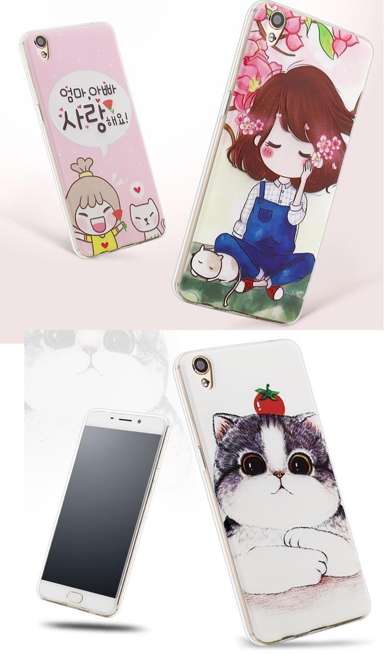 OPPO Neo 7 OPPO R9 R7plus VIVO Y35 back cover lovely good day casing