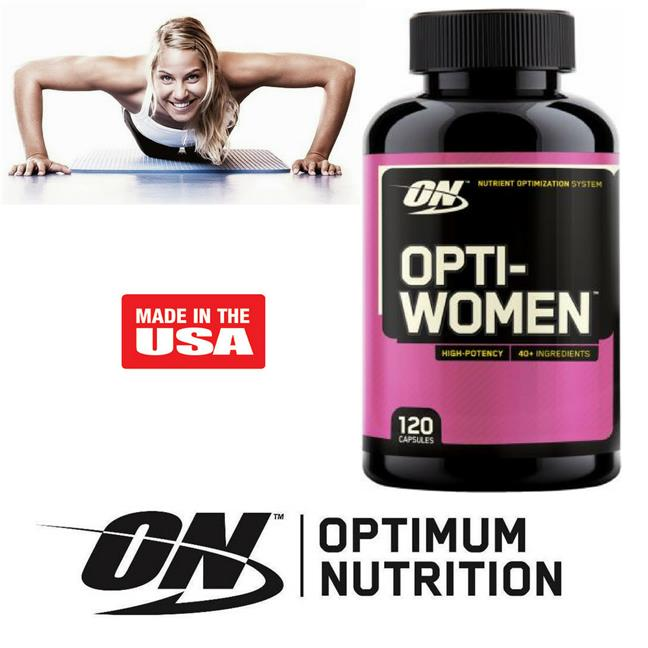 Optimum Nutrition, Opti-Women, Nutrient Optimization System, 120 Caps