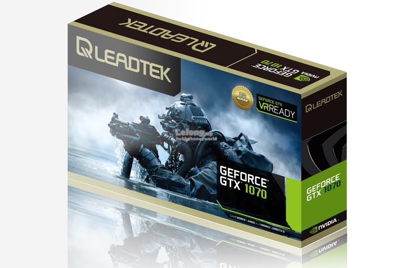 [BACK-ORDER] LEADTEK WINFAST GTX 1070 HURRICANE 8GB GRAPHIC CARD