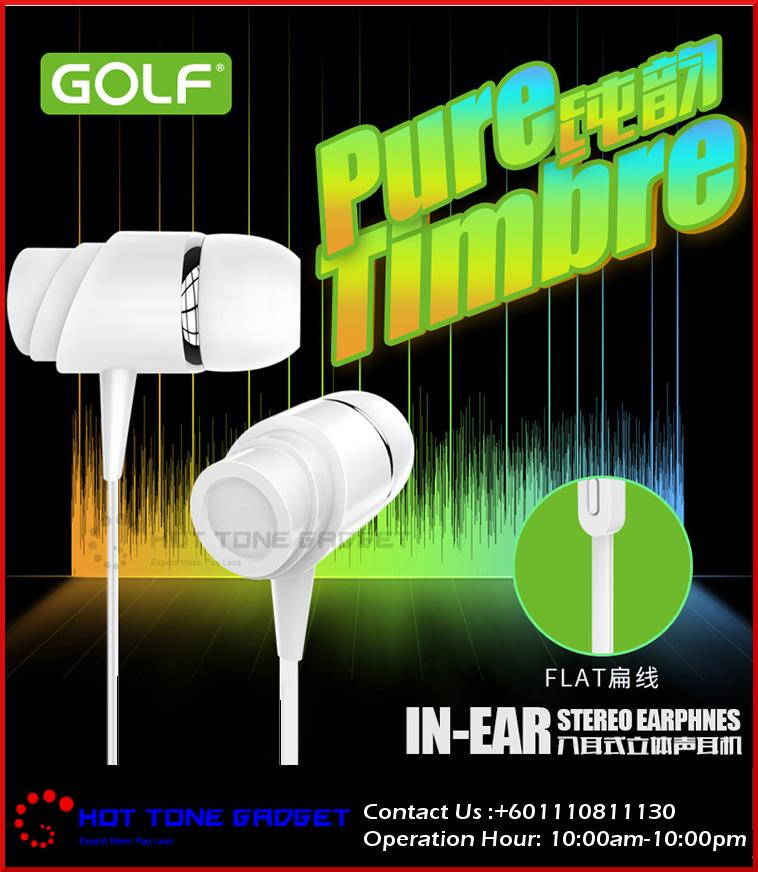 [ORI] GOLF PURE TIMBRE M4 IN-EAR Piston Earphones