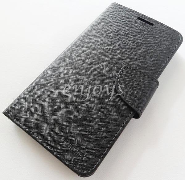 ORI MERCURY Fancy Diary Book Case Asus Zenfone 2 @5.0' ZE500CL ~BLACK