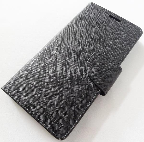 ORI MERCURY Fancy Diary Book Case Cover Huawei Honor 6 Plus /6+ ~BLACK
