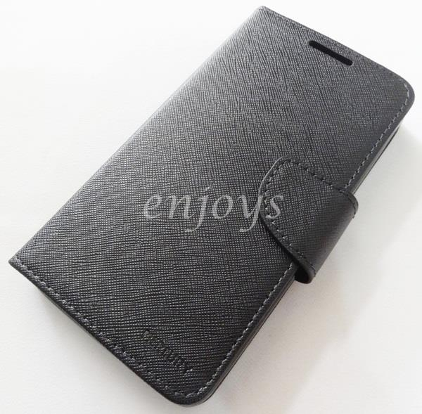 ORI MERCURY Fancy Diary Book Case Cover Lenovo A850+ /A850 Plus ~BLACK