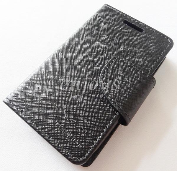 ORI MERCURY Fancy Diary Book Case Cover Samsung Galaxy Y S5360 ~BLACK