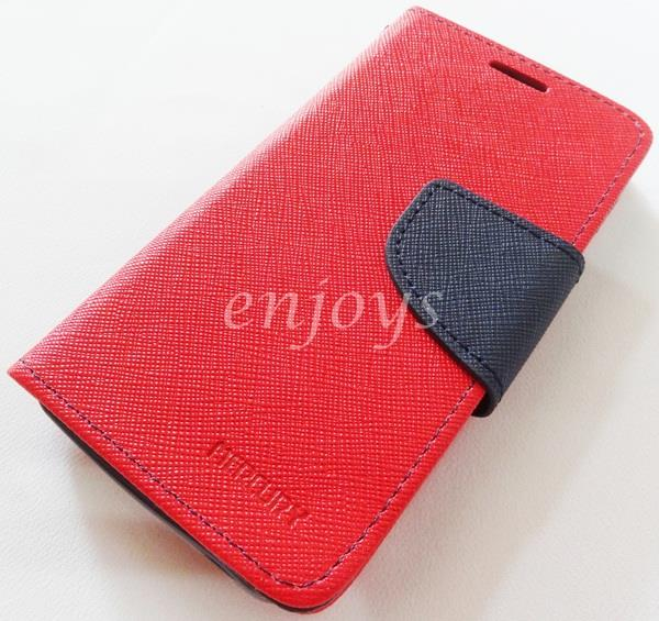 ORI MERCURY Fancy Diary Case Cover Asus Zenfone 4 / Zen4 A400CG ~RED