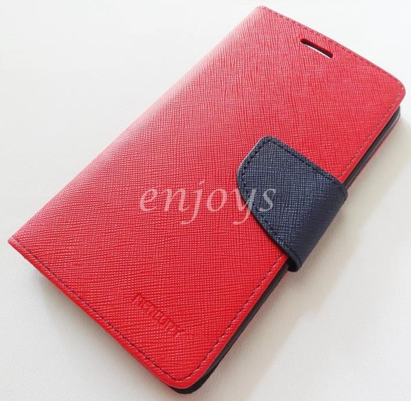 ORI MERCURY Fancy Diary Case Cover Pouch Lenovo Vibe X S960 ~RED