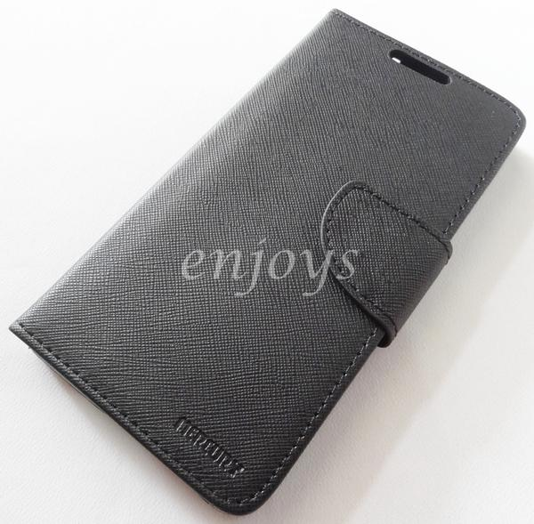 ORI MERCURY Fancy Diary Case Cover Samsung Galaxy A7 / A700FD ~BLACK