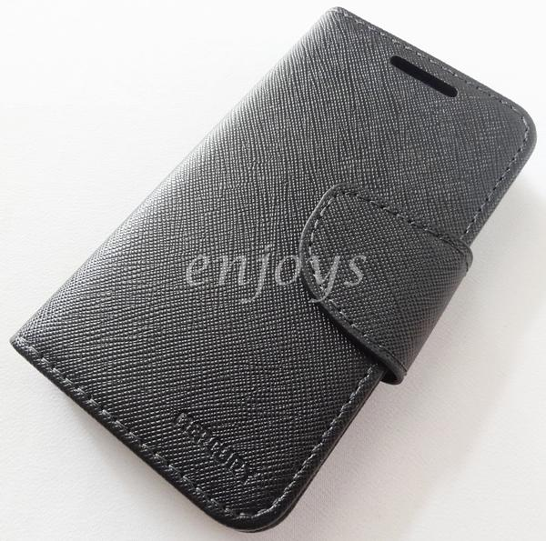 ORI MERCURY Fancy Diary Case Cover Samsung Galaxy Ace S5830 ~ALL BLACK