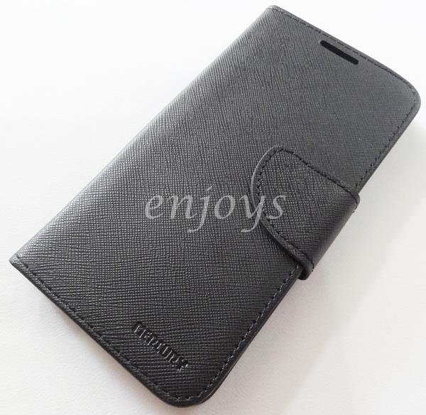 ORI MERCURY Fancy Diary Case Flip Cover Asus Zenfone Go ZC500TG ~BLACK