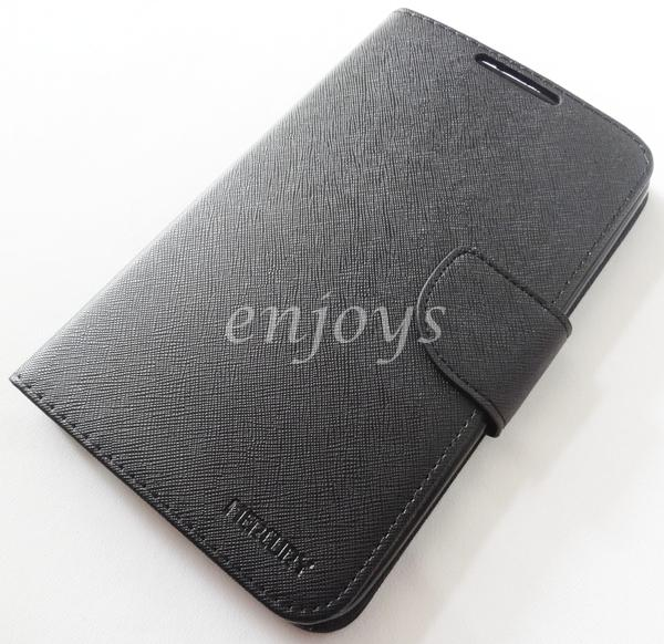 ORI MERCURY Fancy Diary Case Samsung Galaxy Tab 3 7.0 P3200 T211 ~BLK