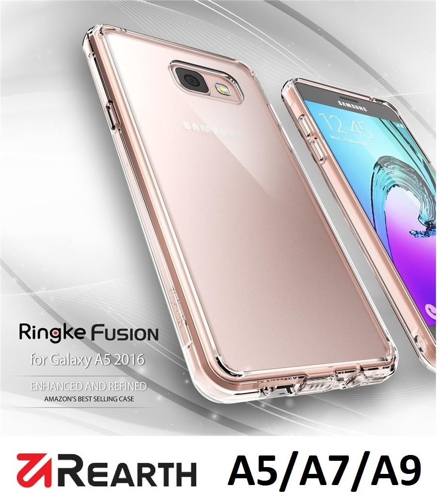 [Ori] Rearth Ringke Fusion Case for Samsung A5 / A7 / A8 / A9 (2016)