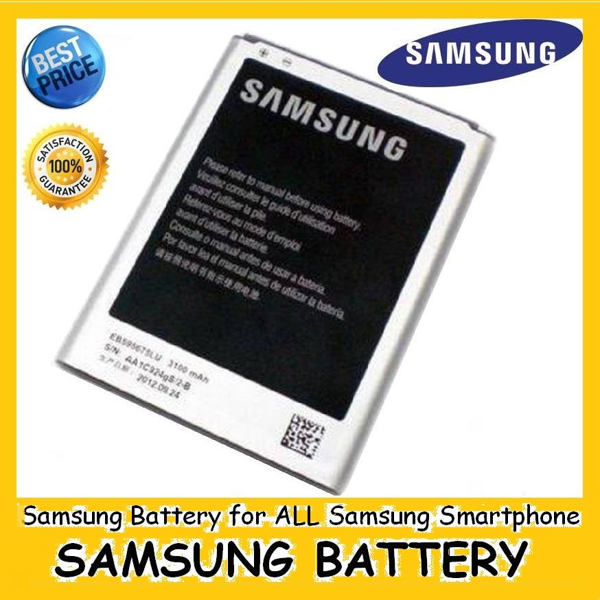 ORI SAMSUNG Battery for Note 1 2 3 4, S2 S3 S4 S5 REAL CAPACITY
