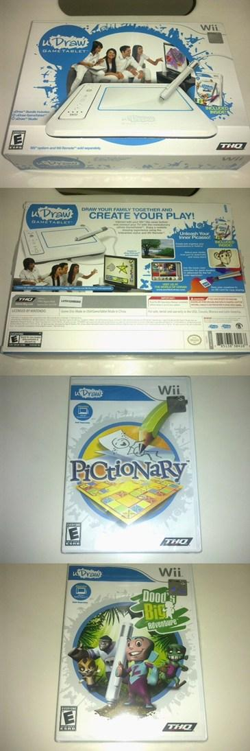 Ori Wii uDraw GameTablet with 3 FREE Games Great Deal!
