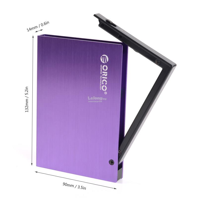 ORICO 25A2 USB 2.0 External Hard Disk Drive HDD Enclosure COLOUR: LIME
